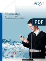 Chemistry Specification