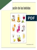 CLASIFICACION DE LAS BEBIDAS