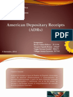 American Depository Reciep (ADRs) PRESENTA REBE