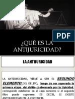 7. La Antijuricidad