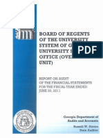 2011-472-Board of Regents of the University System of GA Audit
