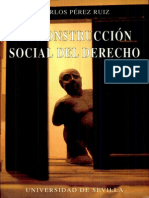La Construccion Social Del Derecho