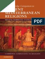 gRELIGION the Cambride Companion to Ancient Mediterranean Religions