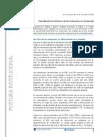 Entendiendo el Fenómeno de Extorsiones en Guatemala