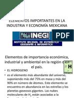 Elementos Importantes en La Industria y Economía Mexicana