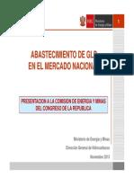 Informe GLP Nov 2013 MEM