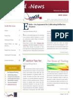 UA OMSE Med/Ed eNewsv3 No. 4 [NOV 2014]
