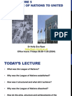 Lecture 5- LoN to UN