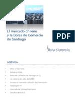 Contextualización Bolsa de Comercio de Santiago