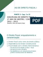 Direito Fiscal I - Cap. I e II (1)