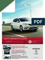 Nissan Pulsar - Cenník November 2014