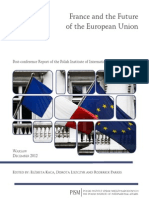 France and the Future of the European Union