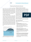 DR Fact Sheet 1 Introduction to Demand Response
