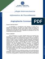 Informativo Angioplastia Coronariana Portugues