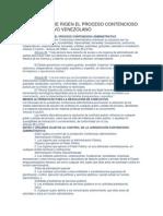 Principios Que Rigen El Proceso Contencioso Administrativo Venezolano
