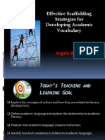 WABE 2014_Effective Scaffolding Strategies for Developing Academic Vocabulary