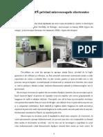 Raport Privind Microscoapele Electronice
