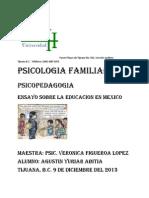 Ensayo Sobre La Educacion en Mexico