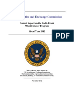 Dodd-Frank WB Program 2012