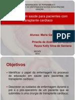 Educação Em Saúde_transplante Cardíaco