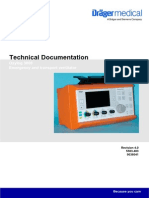 Dräger Oxylog 3000 - Service Manuals