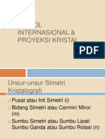 Simbol Internasional & Proyeksi