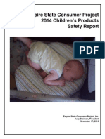 Empire Consumer Project Childrens Products Safety Report 2014
