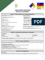 Aluminum Oxide Dangers