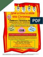 2014 Orfordville Children's Christmas Benefit Poster