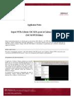 App Import Layout