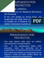Presentación Presupuesto Por Proyecto (Alberto Bosque)