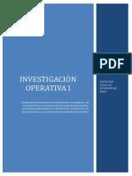 Investigacion Operativa i