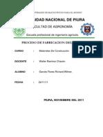 Proceso de Fabricacion Del Yeso (1)
