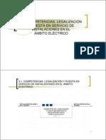 5_1 Competencias y Legalización Electricidad