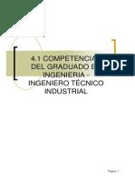 t4_1 Competencias Del Graduado - Ingeniero Técnico Industrial