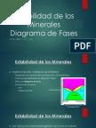 Estabilidad de Los Minerales y Diagramas de Fase - Klein