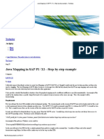 Java Mapping in SAP PI _ XI – Step-By-step Example » Techplay