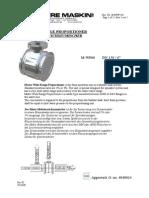 MWP - Wide Range Bladdertank Proportioner