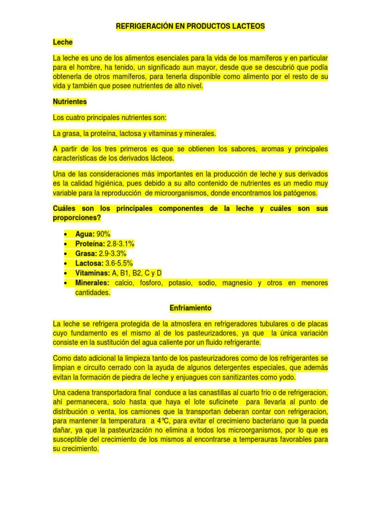 Circuito De La Leche : Recepción y almacenamiento de la leche y otras materias primas on