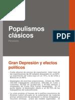 Populismos clásicos