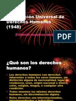 Declaracion Derechos Humanos Ppt 2014