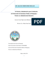 Informe practica Addministrativa USAC