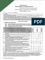 psii final evaluation
