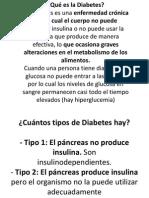 Diabetes Nutricion