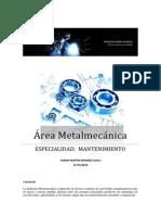 Área Metalmecánica