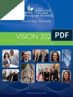 Vision 2020 | Strategic Plan 2011-2020