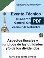 4. Aspectos Juridicos y Fiscales de Las Utilidades y Dividendos EZM