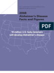Alzheimers Facts and Figure 2008