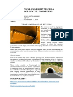 What Makes a Good Tunnel