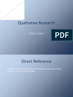 Qualitative Research A2